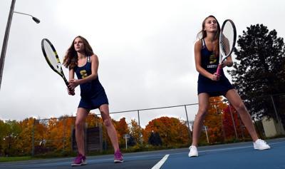 Girls Tennis Players of the Year: Emma Miller and Ella Danforth, Skaneateles