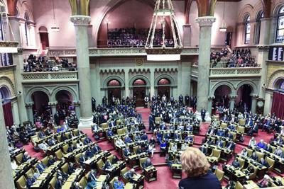 New York Legislature Convenes