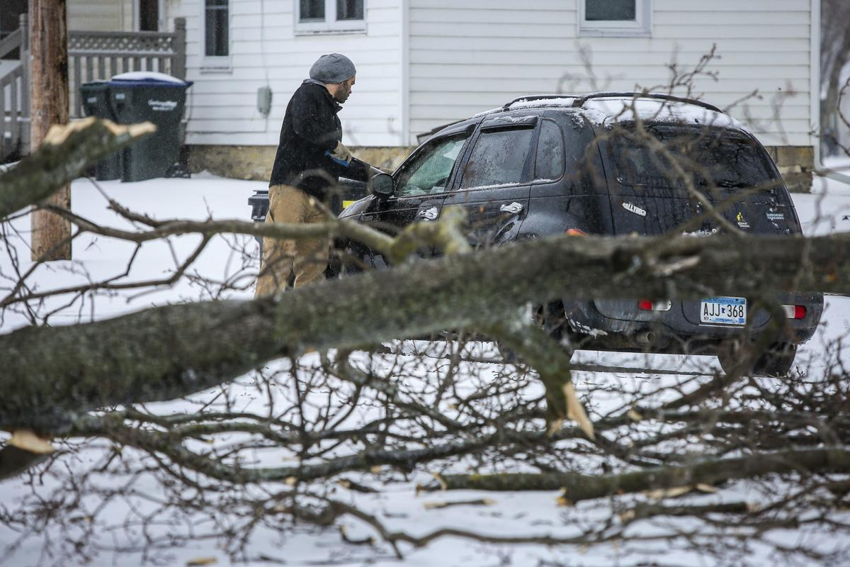 Freezing rain heads into central New York after storm blasts central ...