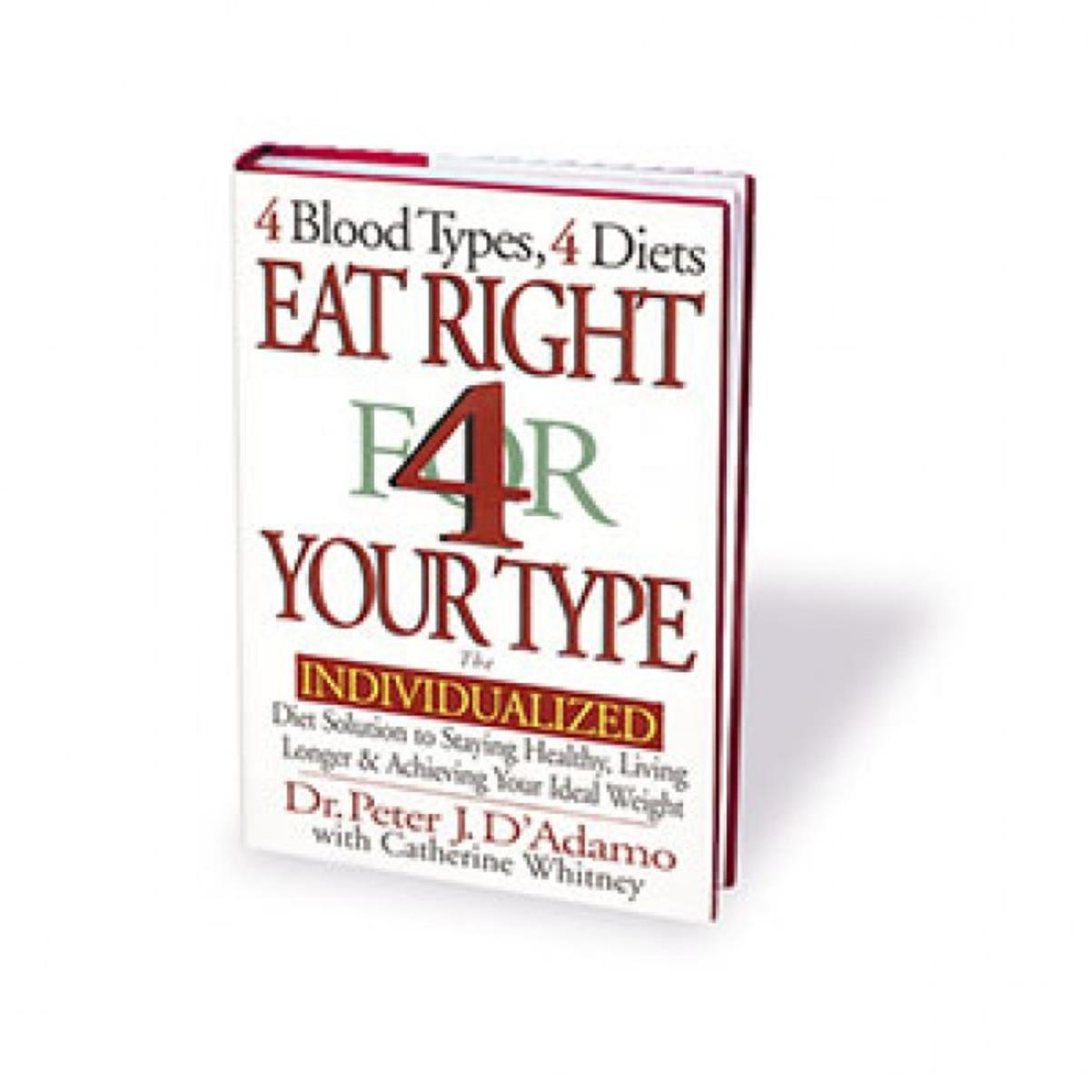 blood type diet advertisements