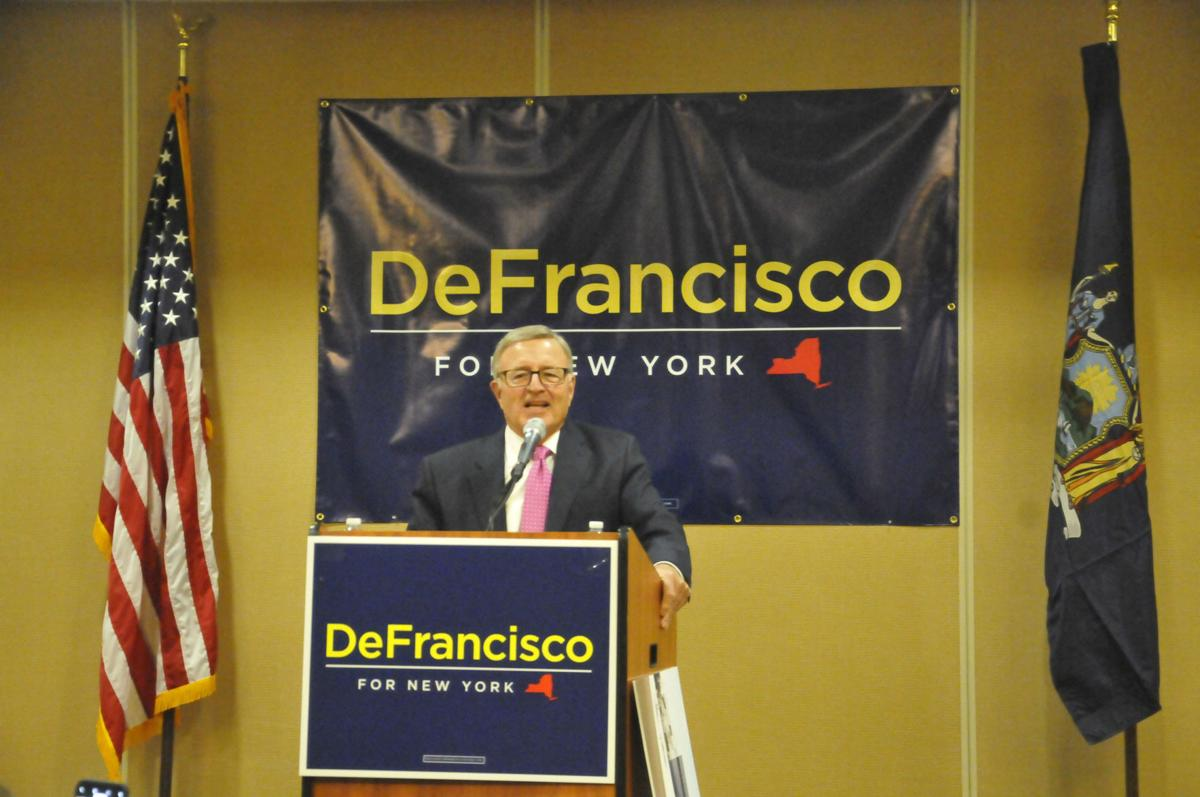 DeFrancisco for governor