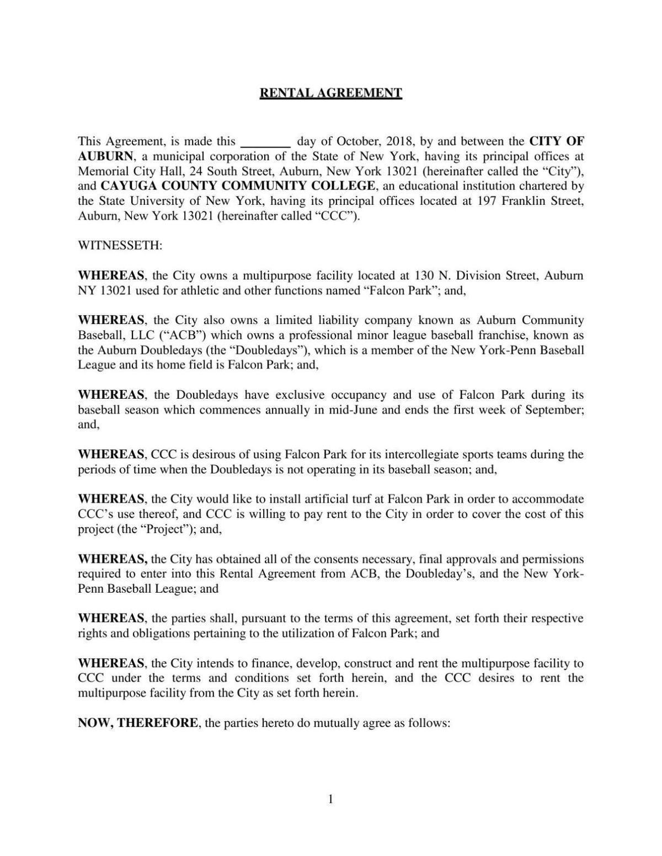 Falcon Park Rental Agreement Auburnpub