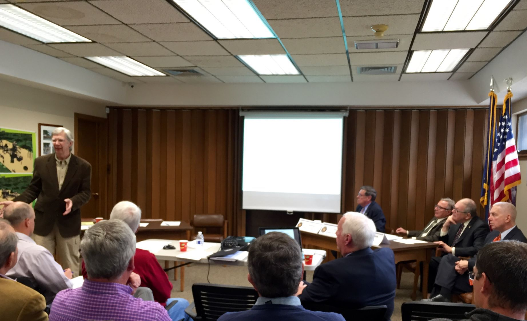 Owasco Lake briefing Bob Brower Auburn based geospatial