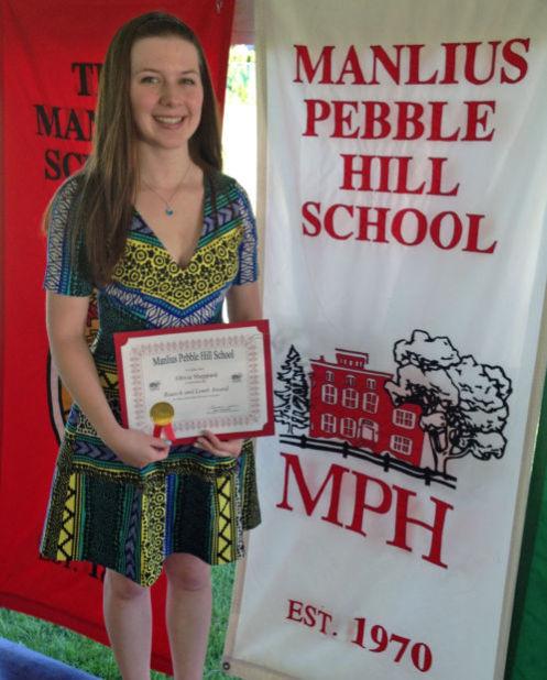 Skaneateles resident, Manlius Pebble Hill junior wins Bausch & Lomb science award