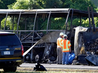UPDATE: Probe of fatal bus crash near Waterloo looks at speed