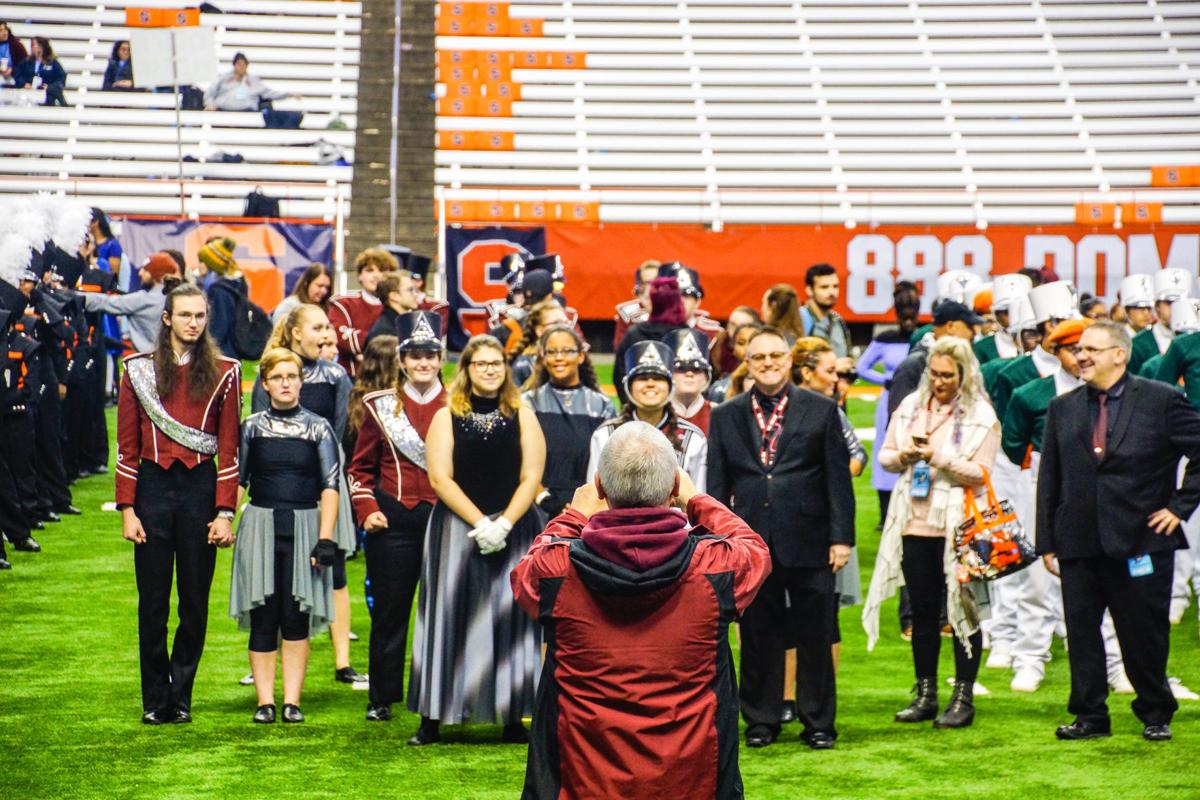 Auburn's marching band competes in state championship