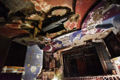 Inside the Auburn Schine Theater