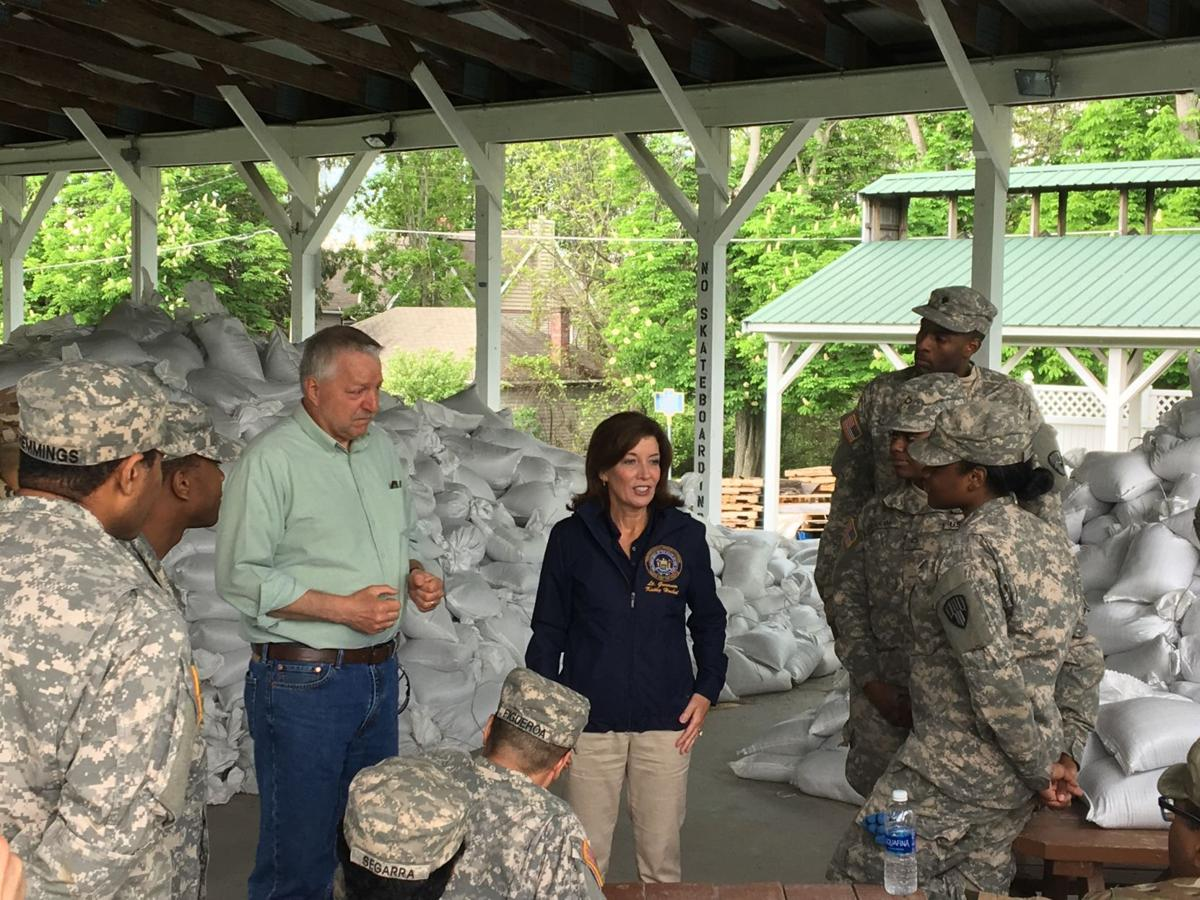 Hochul surveys flooding 2