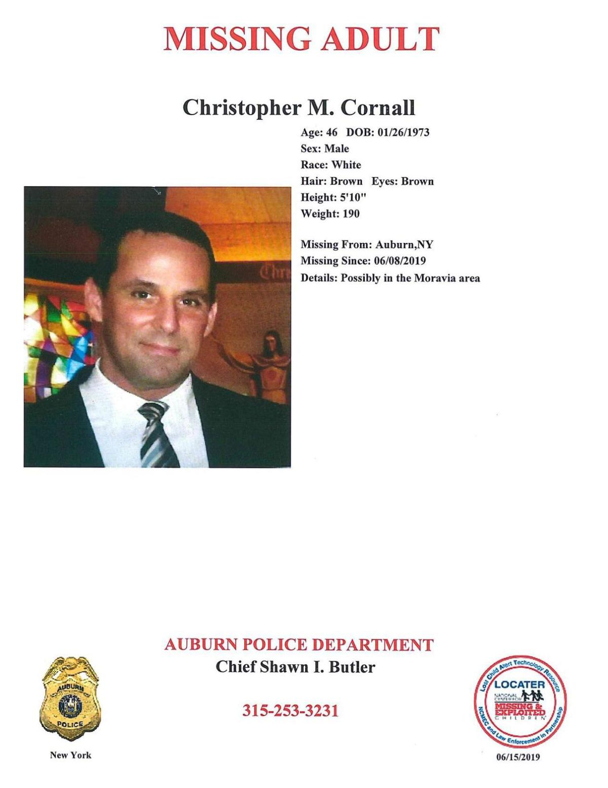 Missing adult Christopher Cornall