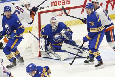 Islanders Sabres Hockey