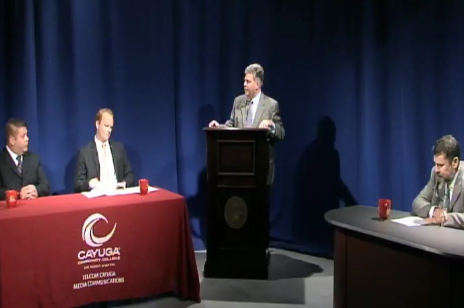 Kyle, Petrus offer differing views of Cayuga County leadership at forum