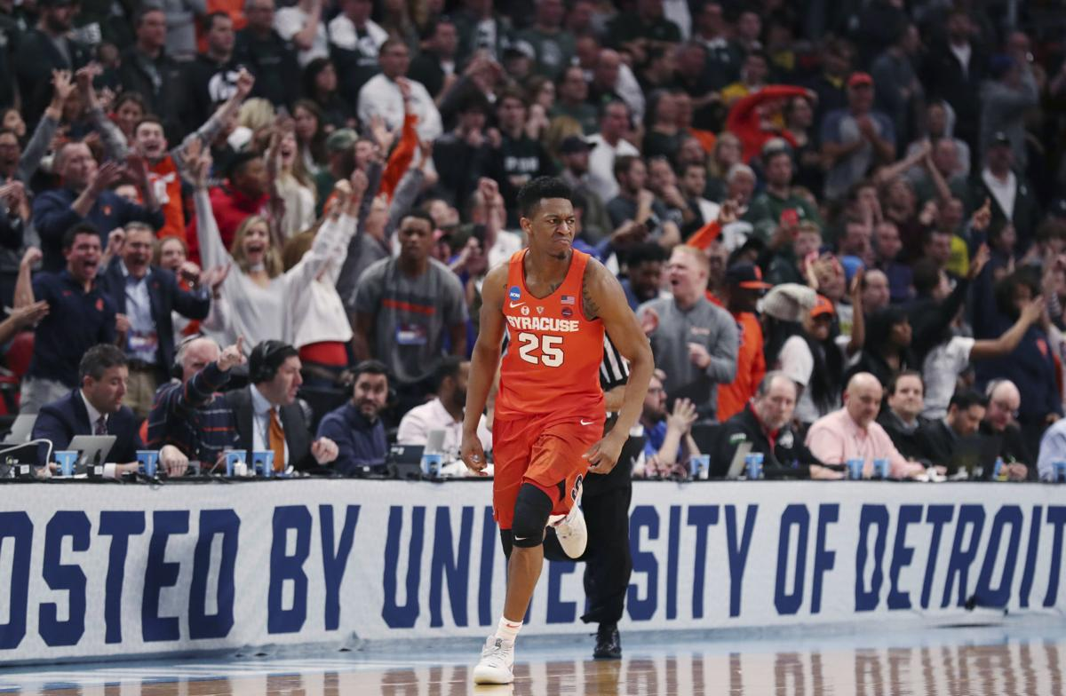 Orange Are Feeling Sweet Syracuse Men S Basketball Defeats Msu To