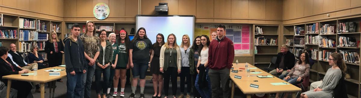 Scholastic Art award winners celebrated at Marcellus school board meeting