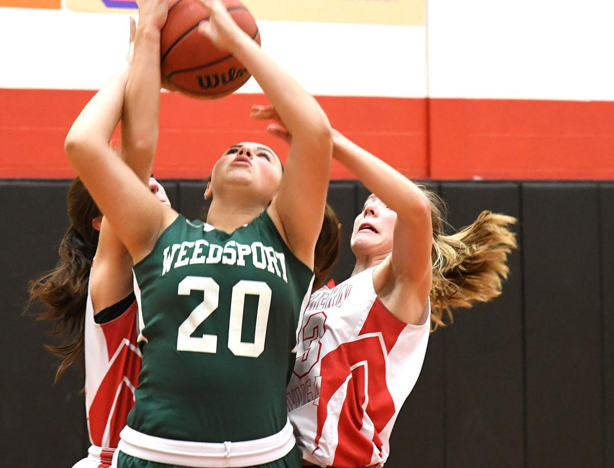 Southern Cayuga vs. Weedsport girls basketball