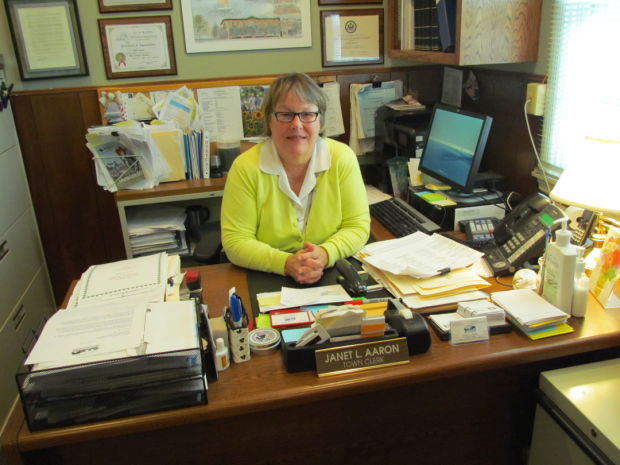 Town clerk still enjoying job after 20 years