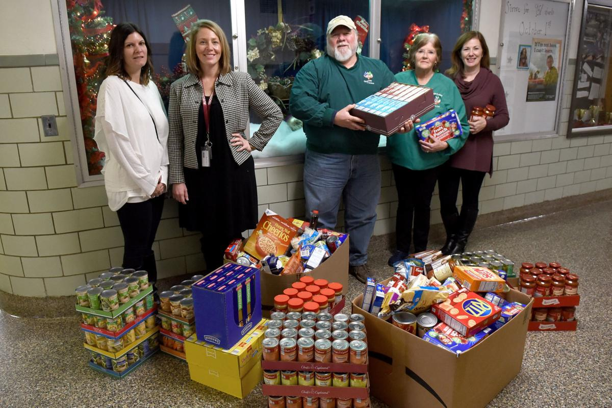 Full bellies, full hearts: Auburn school's food drive helps families during holidays