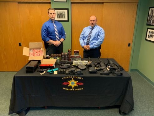 Cayuga County Sheriff Detectives