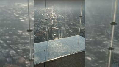 SkyDeck ledge of the Willis Tower