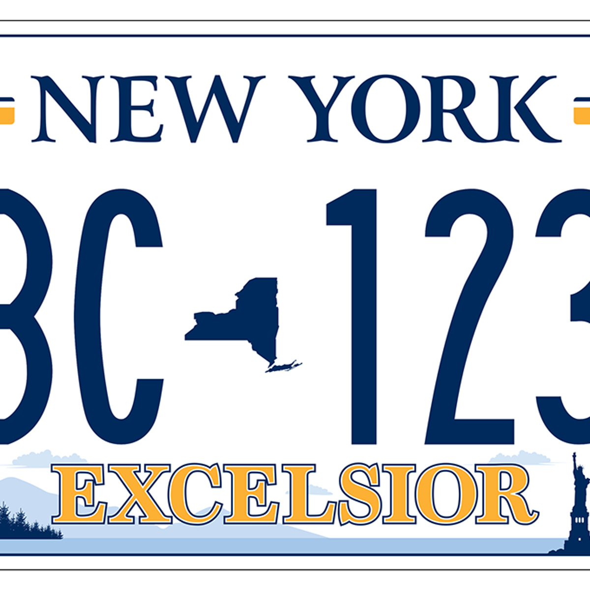 And the winner is    : NY DMV announces new license plate