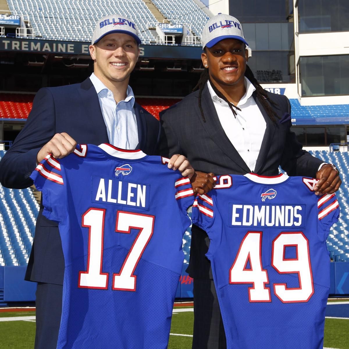 208ade21 Buffalo Bills 2018 NFL Draft Report Card: Josh Allen, Tremaine ...