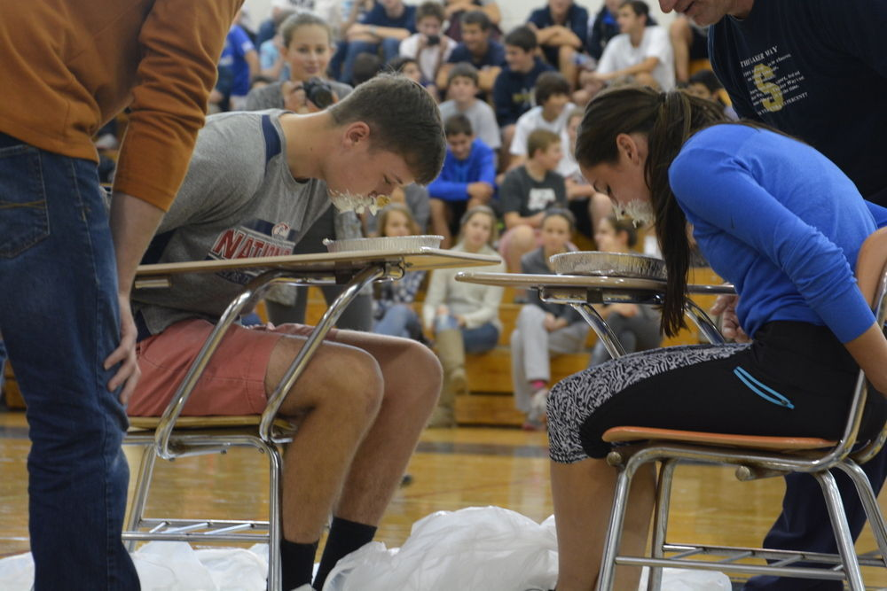 Skaneateles High School put down books, turn up energy for district's Wellness Day events