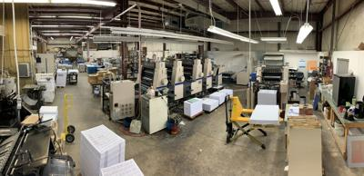 Pressing on: Auburn printer continues adapting during COVID-19