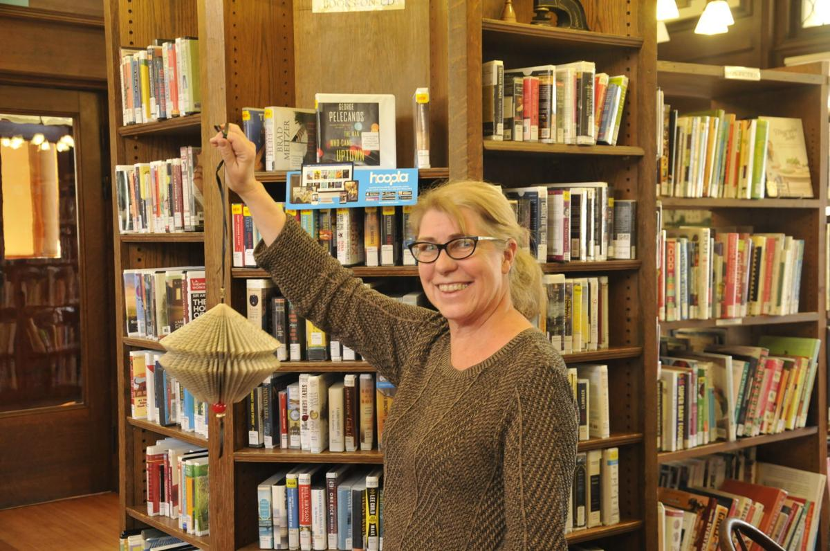 Learning about a new life for old books in Aurora