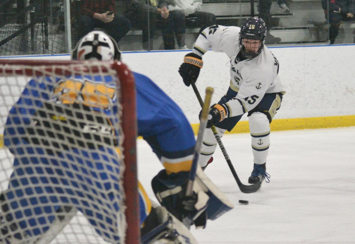 Skaneateles hockey vs. Cortland-Homer