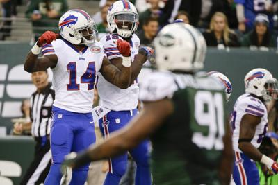 best website d0d83 4de41 Buffalo Bills Week 8 Report Card: Kyle Orton throws four ...