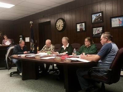 April Weedsport village board