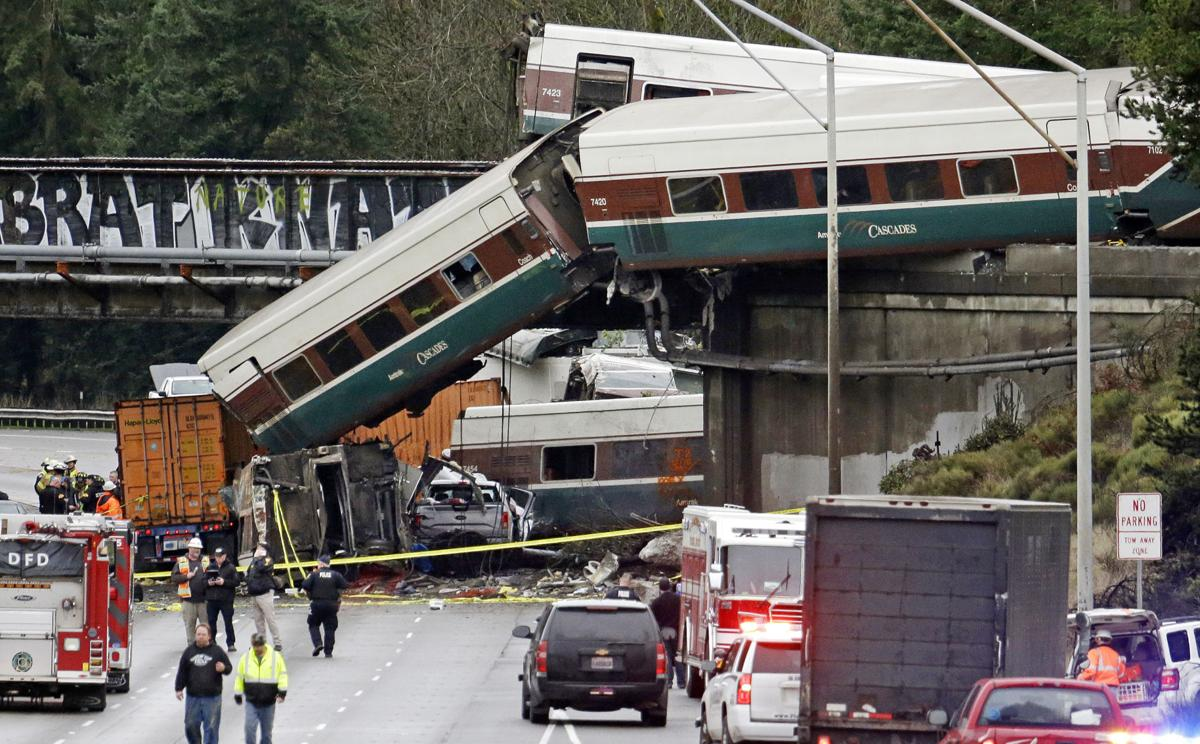 APTOPIX Train Derailment Washington State