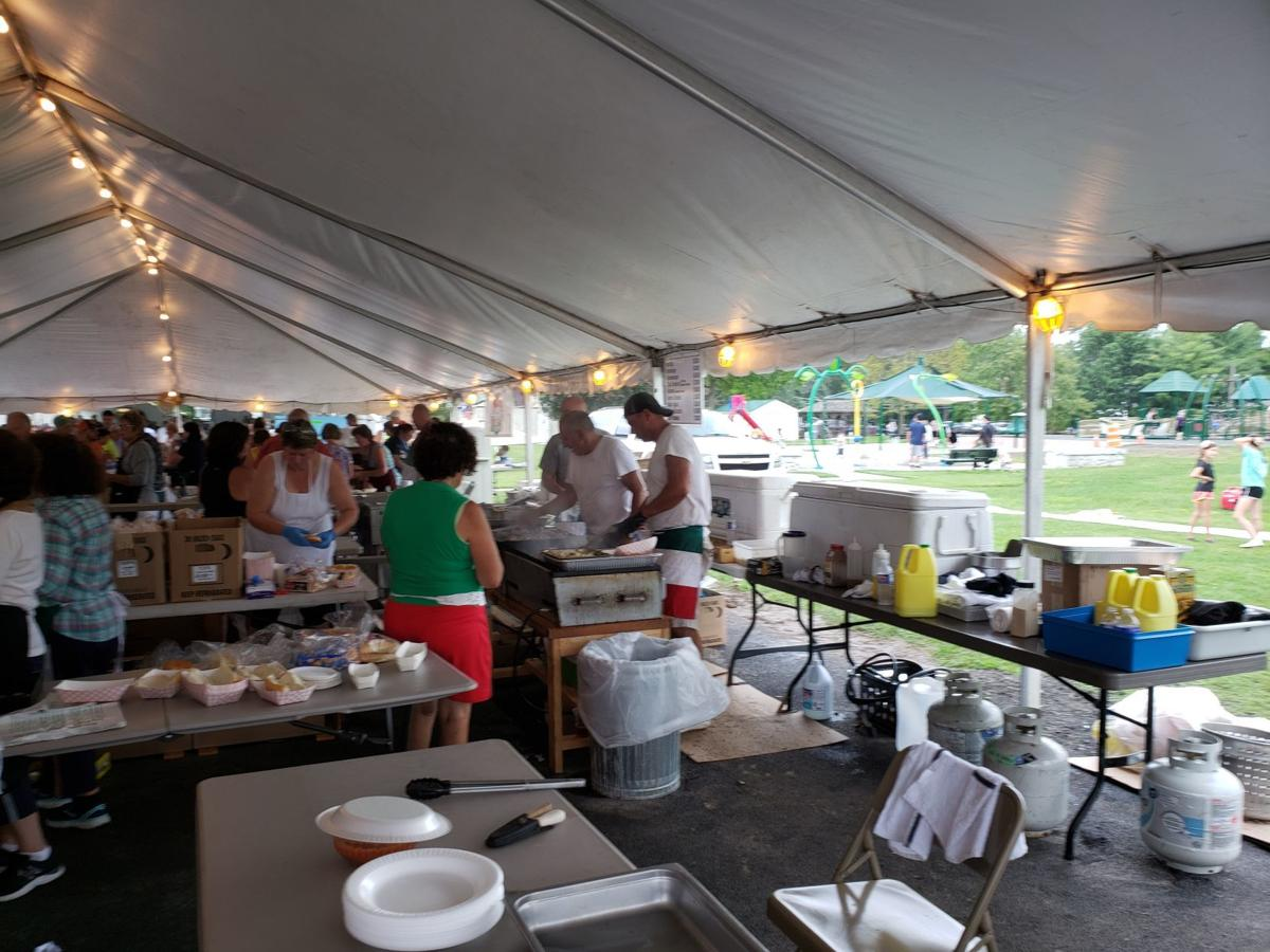 Everybody's Italian for a day at Owasco Italian Festival in Cayuga County