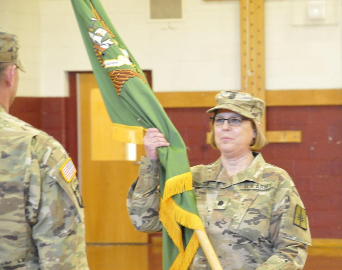 New commander takes over Auburn-based military police
