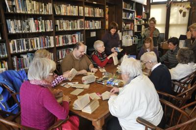 Book ornament workshop