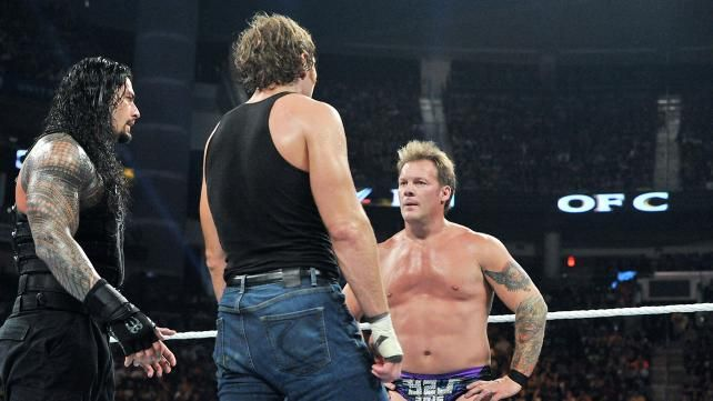 Dean Ambrose vs  Chris Jericho, Seth Rollins vs  Triple H