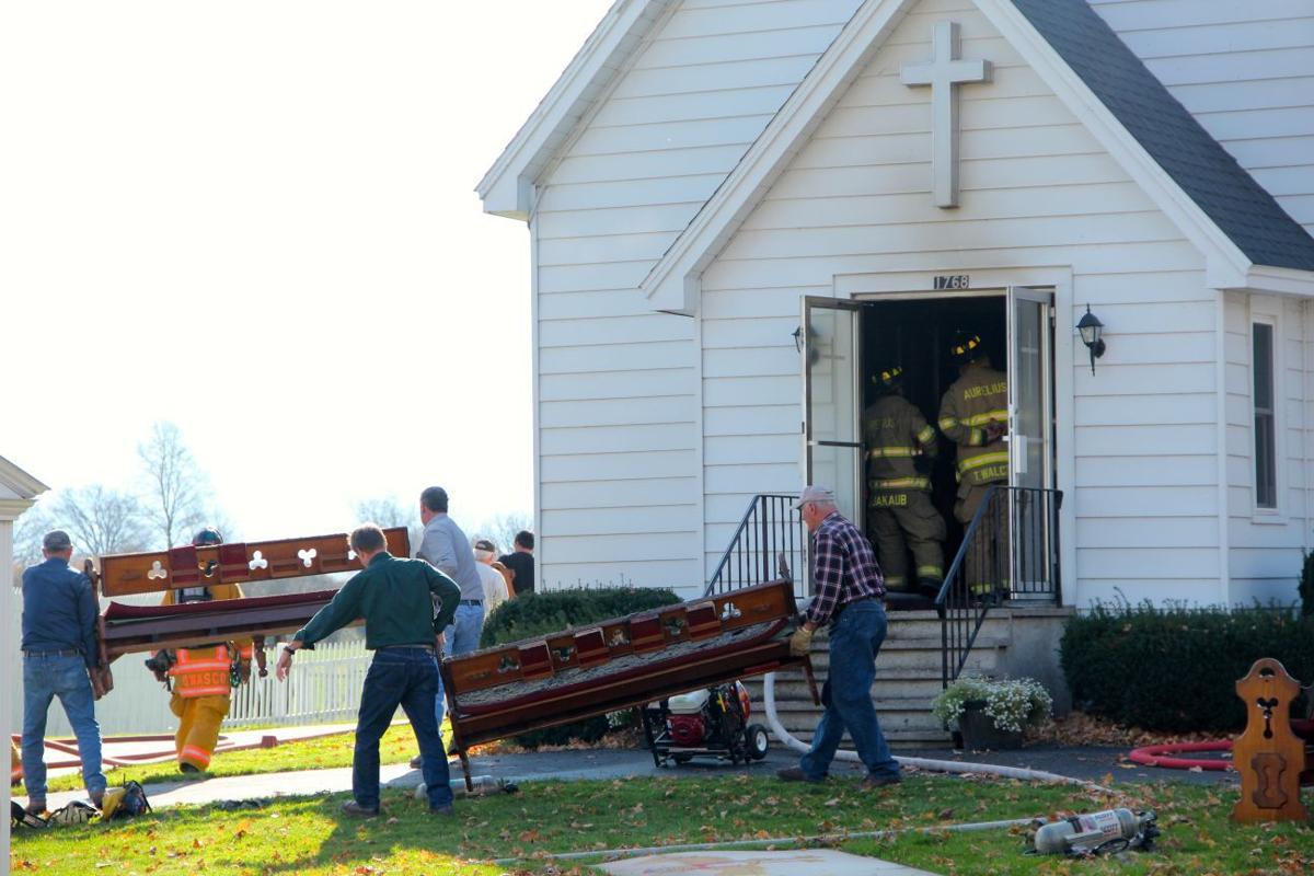 Half Acre Union Church fire