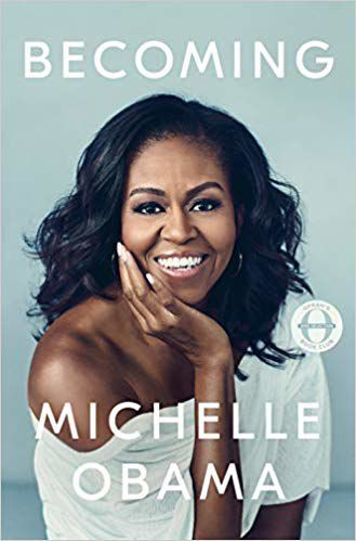 """""""Becoming"""" by Michelle Obama, publicity photo"""