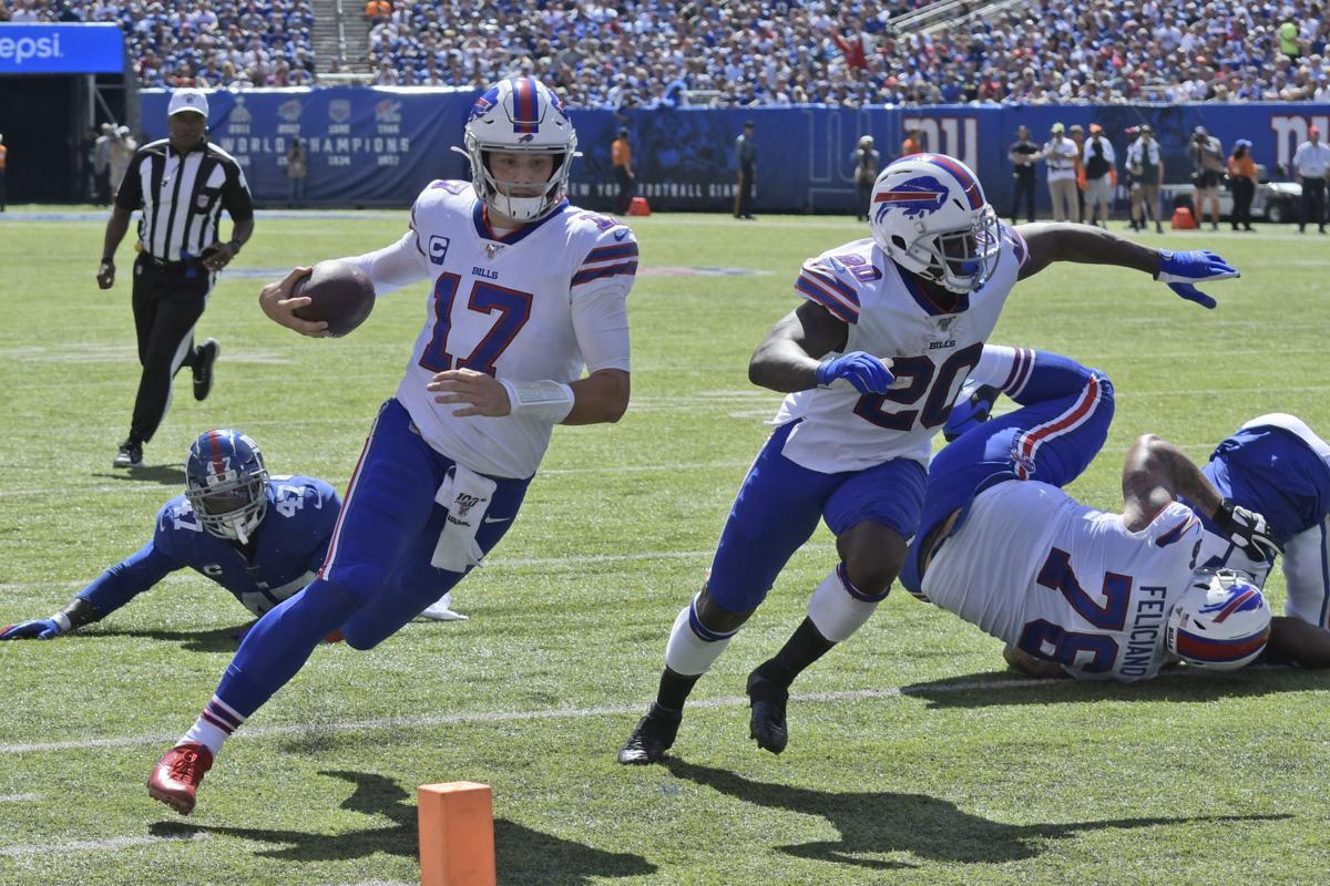 super popular 29627 6ebe1 Buffalo Bills Week 2 Report Card: Josh Allen leads Bills to ...