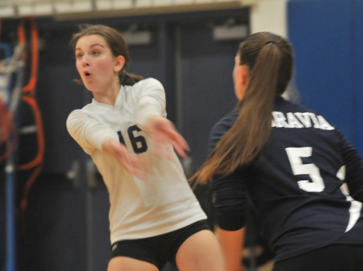 Moravia vs. Union Springs volleyball - Banerjee