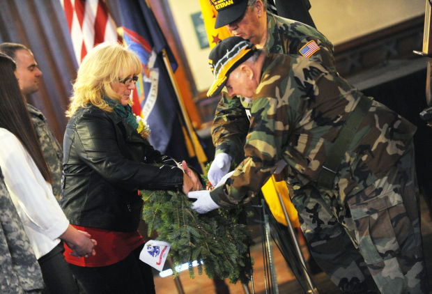 mother of cayuga county soldier killed in afghanistan to attend rh auburnpub com