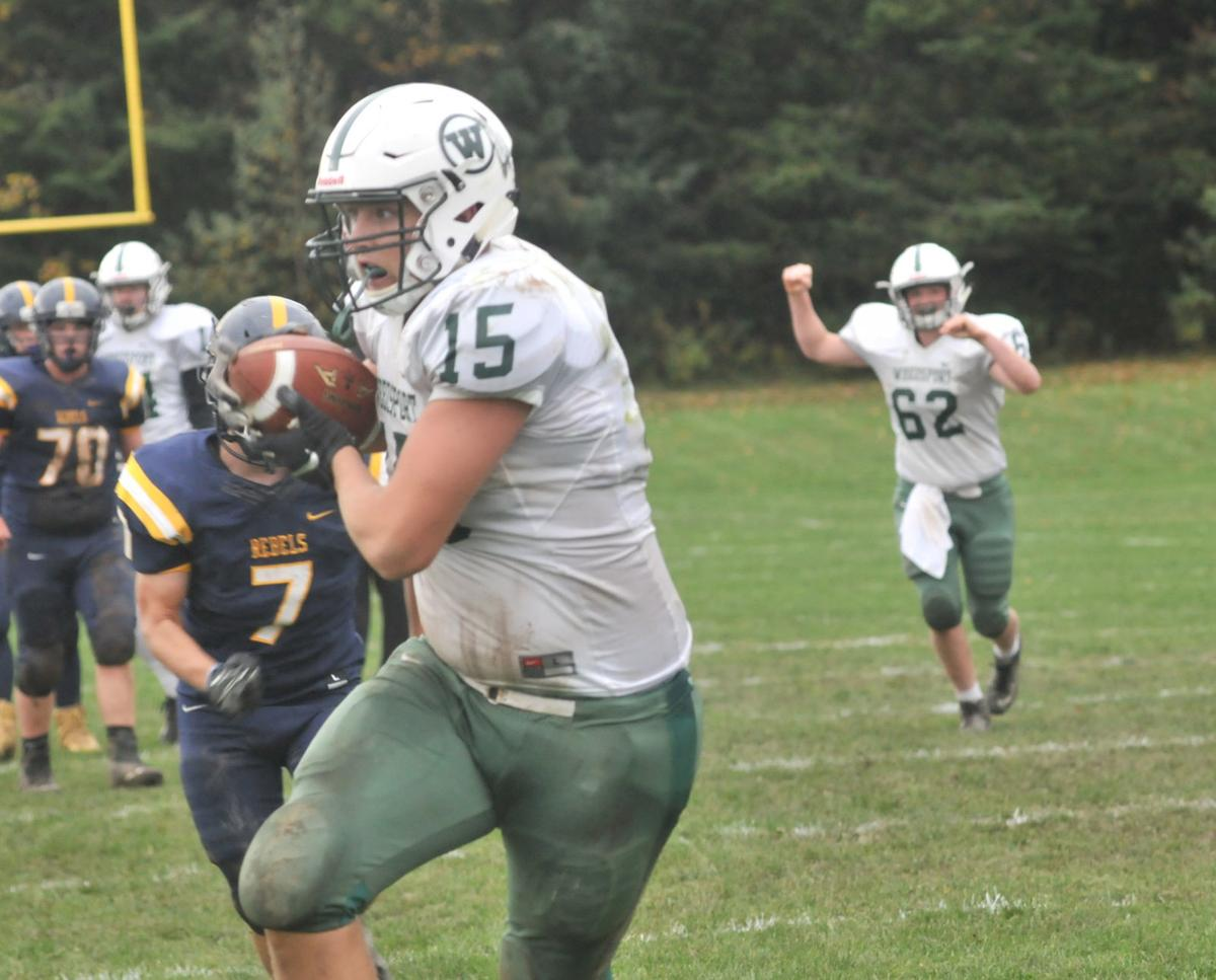 Weedsport football vs. APW - Blumer