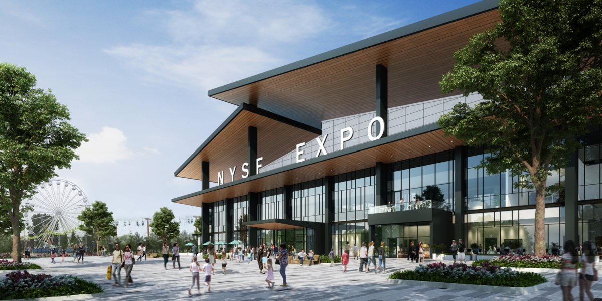 NYS Fair Expo Center Rendering 2