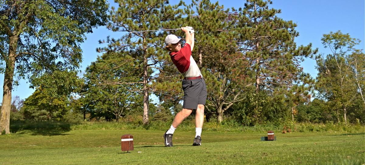 Boys golf - Auburn vs. East Syracuse Minoa - 3