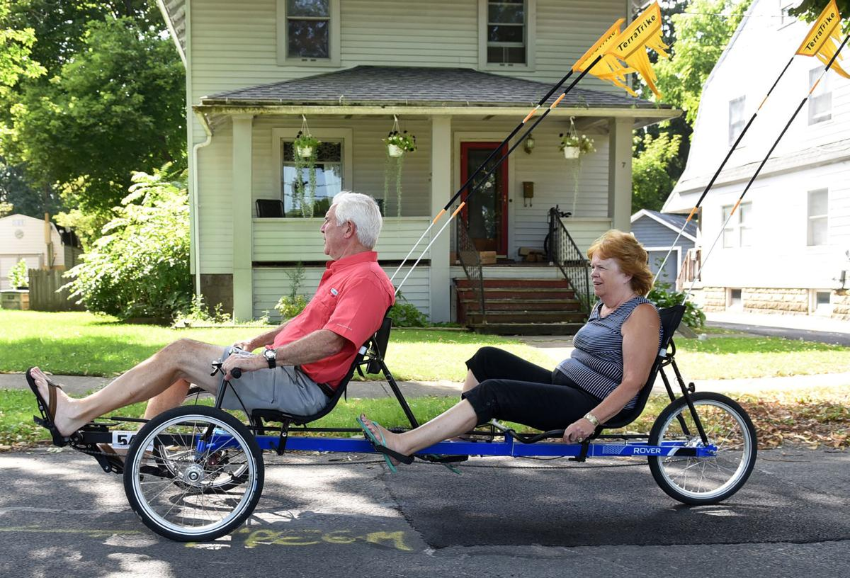Pioneer pedalling: Auburn woman is first blind cyclist in