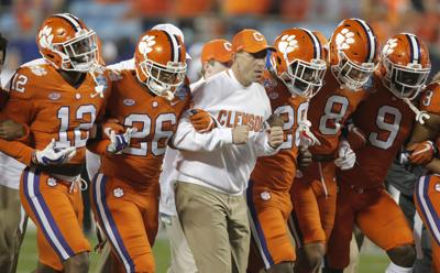 ACC Championship-Experienced Clemson Football