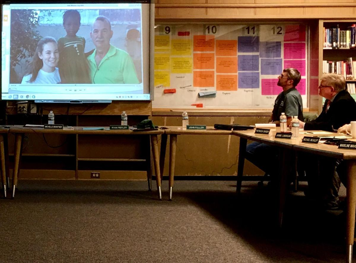 Father, daughter tell Marcellus Board of Education about medical mission trip to Haiti