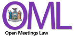 New York State Open Meetings Law