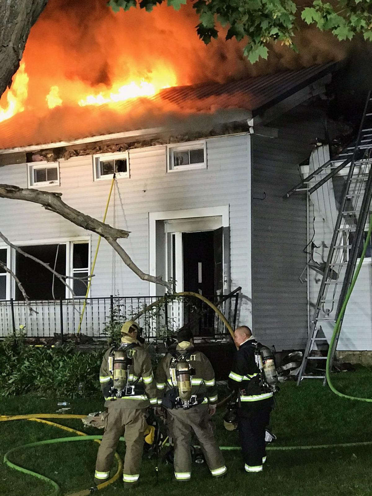 Niles house fire