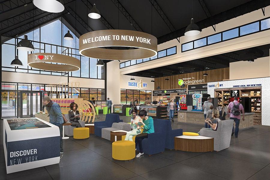 New York service area concept