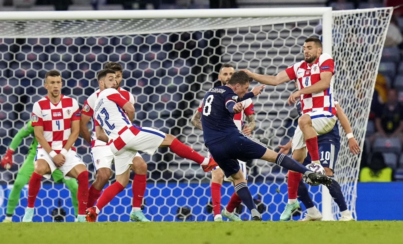 Britain Croatia Scotland Euro 2020 Soccer